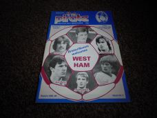 Bristol Rovers v West Ham United, 1985/86